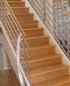 Victorian ash Stair Treads